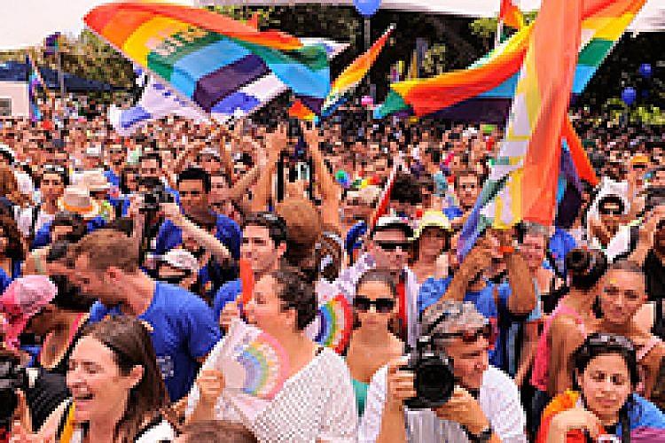 מצעד הגאווה. צילום: מיכאל שבדרון