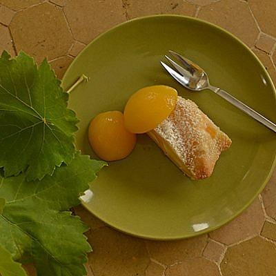 עוגת משמשים. צילום: יואב איתיאל