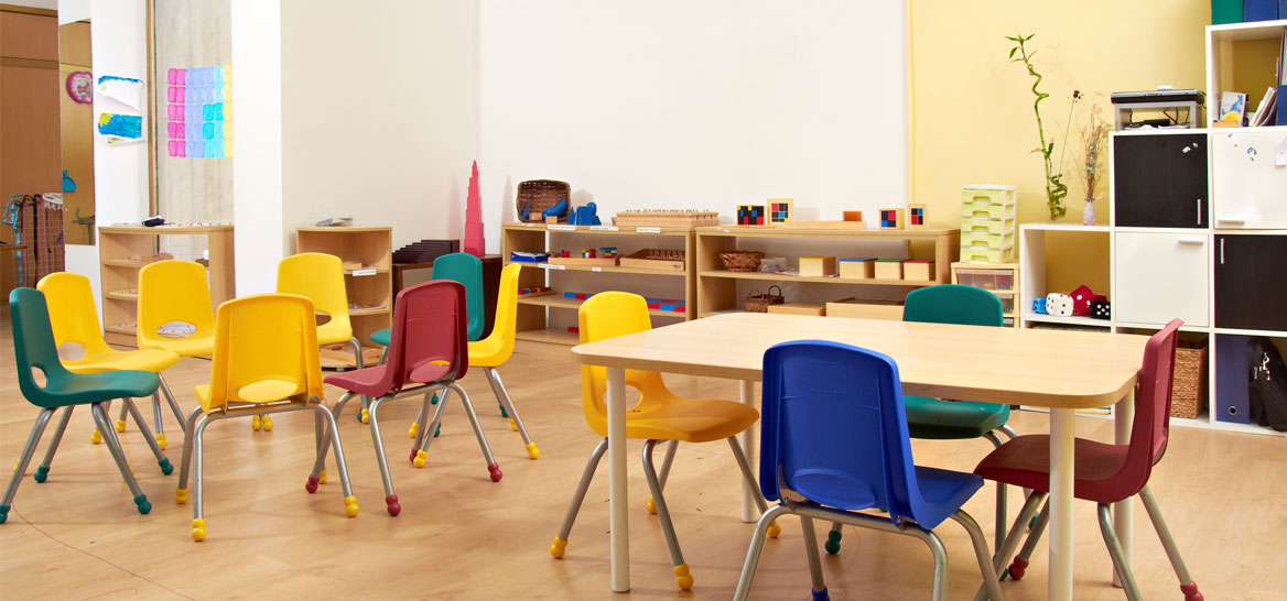 מיגון תקני? עד לפני שנה וחצי אפשר היה בלי. גן ילדים (צילום: Shutterstock)