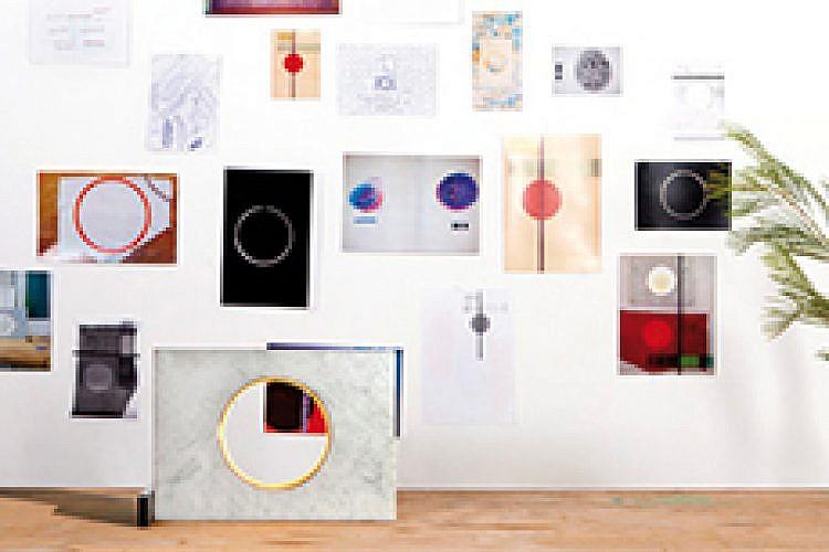 הסטודיו של נעמה הופמן. צילום: יעל אנגלהרט