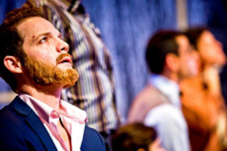 מתוך המחזה איבנוב. צילום: ליאור נורדמן