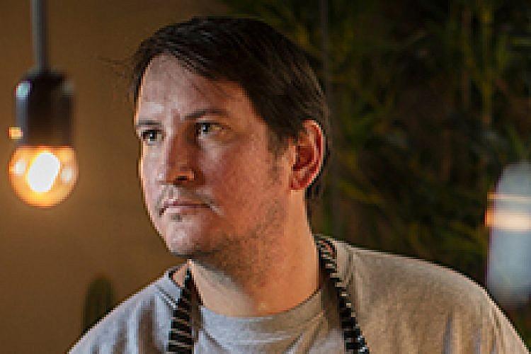 אסף דוקטור במסעדת דייגו-סאן. צילום: אנטולי מיכאלו