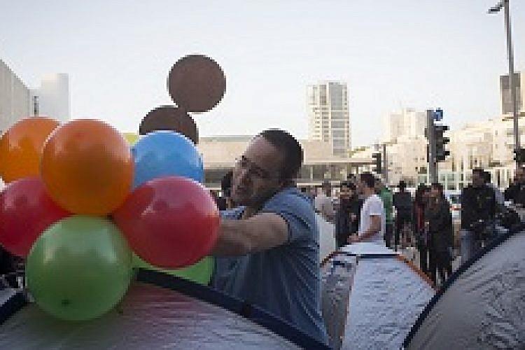 מחאת האוהלים 2.0. צילום: אורן זיו
