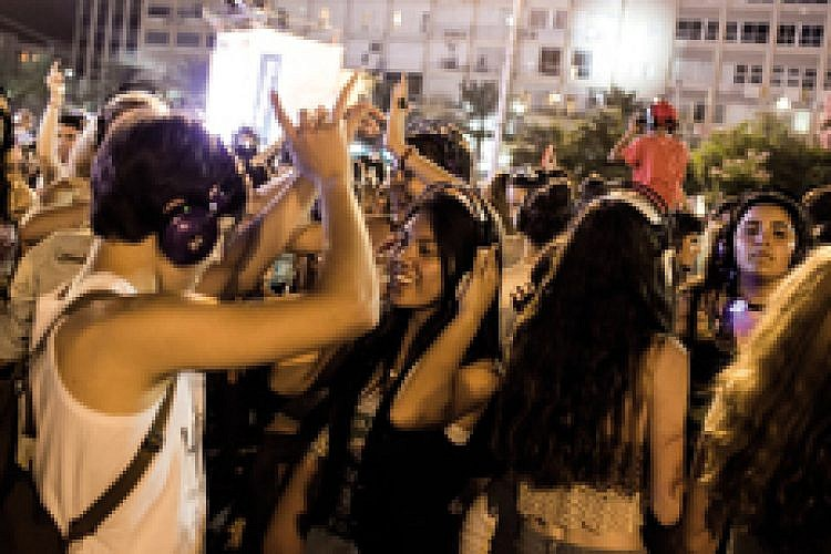 לילה לבן בתל אביב. צילום: אימג'בנק / Getty Images