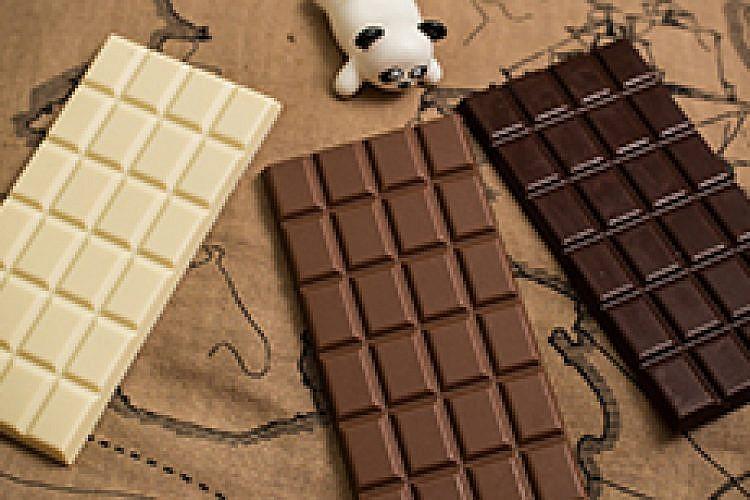 השוקולד הטבעוני של פנדה. צילום: אורי ברקת