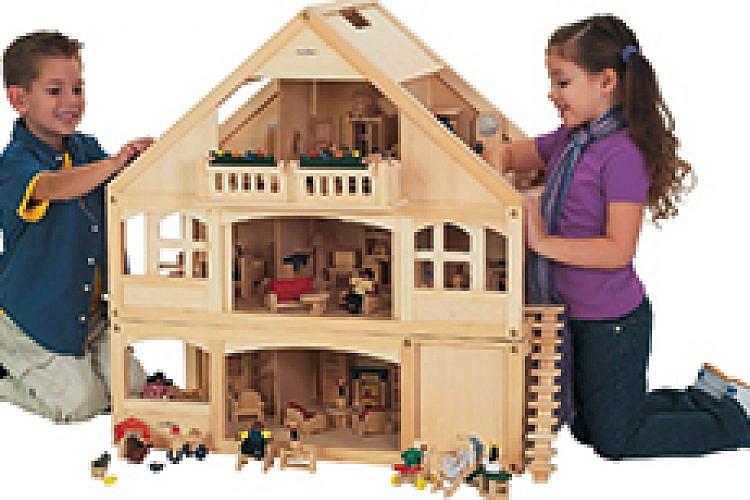 בית בובות של Small World Toys