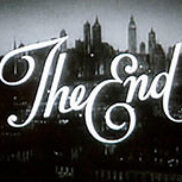 אם זה נגמר, זה הסוף. צילום מסך