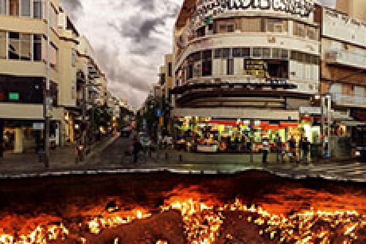 דימויים: ספיר בלומברג, Tel-Aviv is Over