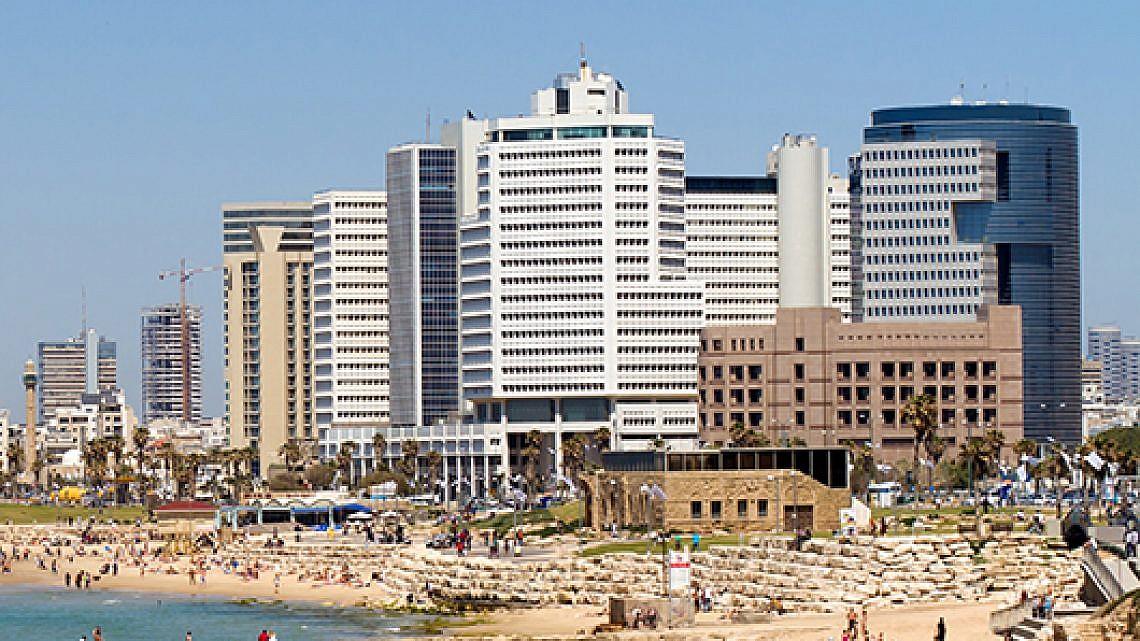 קו החוף של תל אביב. צילום: Shutterstock