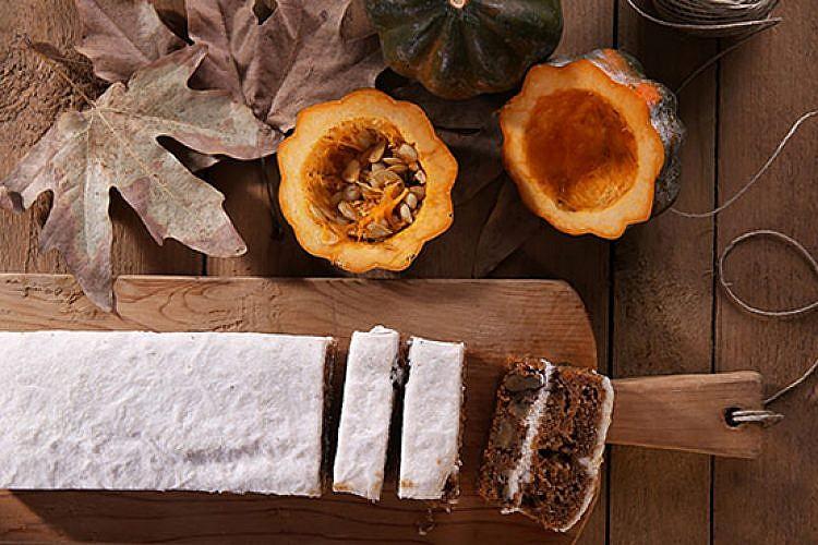 פאי קרם גבינת קשיו דלעת גזר. צילום: שרית גופן