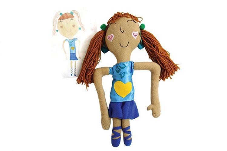 Dolls 'n' All. בובות על פי ציורי ילדים