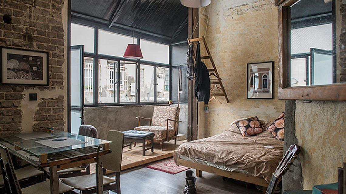 דירה ניו יורקית בעיצוב גיא דניאל לוי (צילום: נמרוד סונדרס)