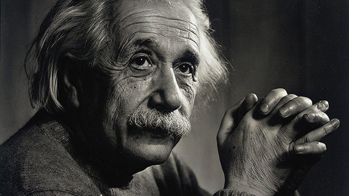 יוסוף קארש, אלברט איינשטיין, 1948, הדפסת כסף ג'לטינית