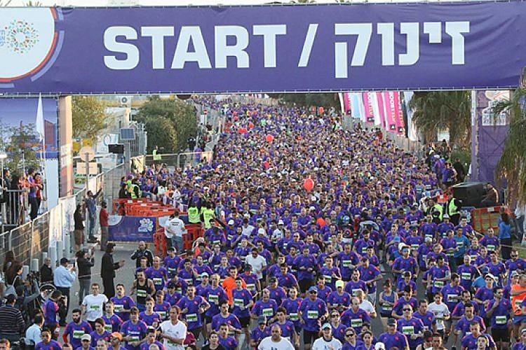 מרתון סמסונג תל-אביב.צילום: רונן טופלברג