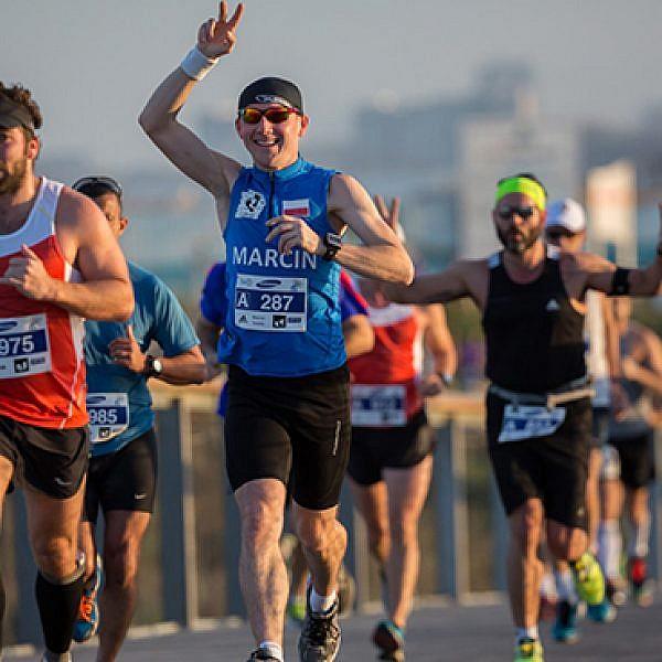 מרתון סמסונג תל-אביב (צילום: רונן טופלברג)