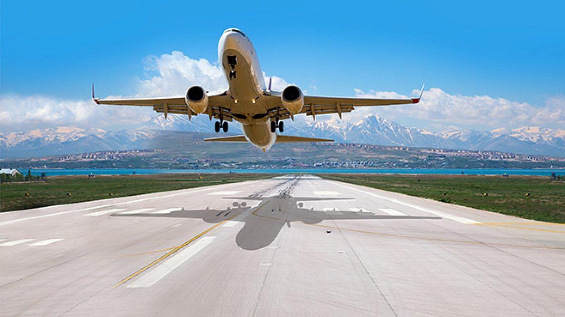 מטוס. תמונה: shutterstock