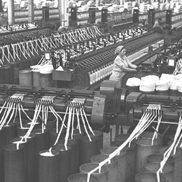 לא, אתא. מפעל הטקסטיל אתא (צילום: זולטן קלוגר, לע