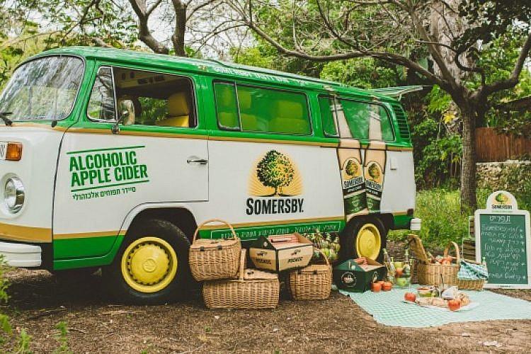 הפיקניק של Somersby's (צילום ארתור ארונוב)