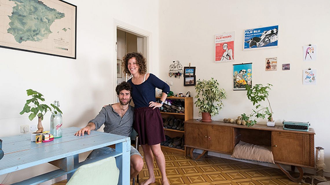 הדירה של עידן פרל ואיילת לכטמן. צילום: נמרוד סונדרס
