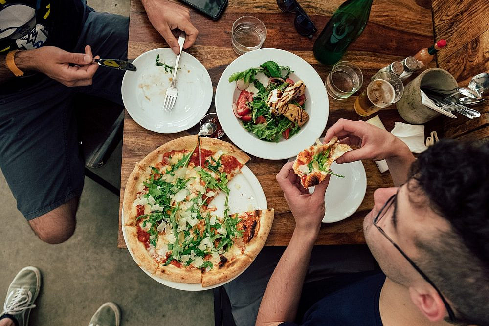 פיצה פלורה (צילום: נועם פריסמן)