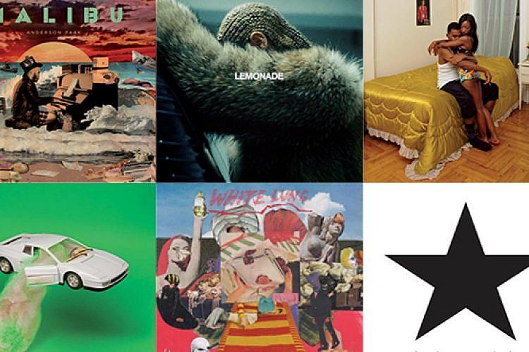 האלבומים הכי טובים של 2016. סיכום ביניים