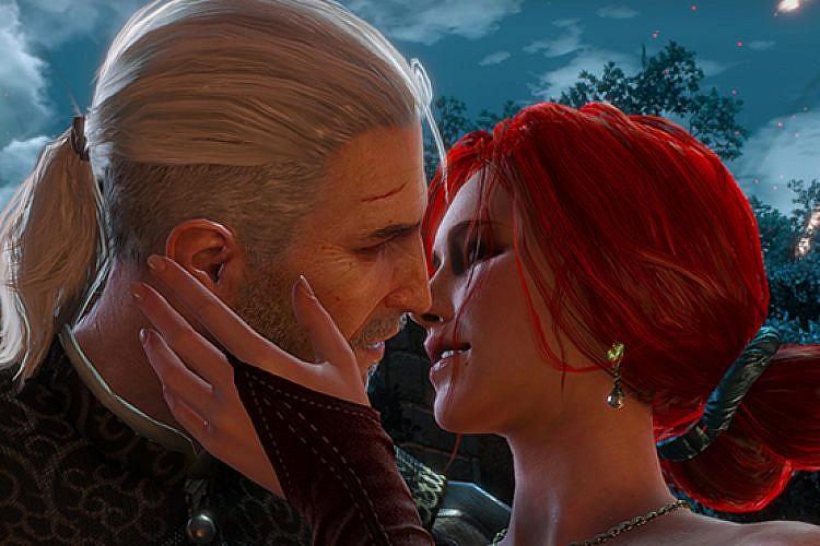 זיקוקים. The Witcher 3.