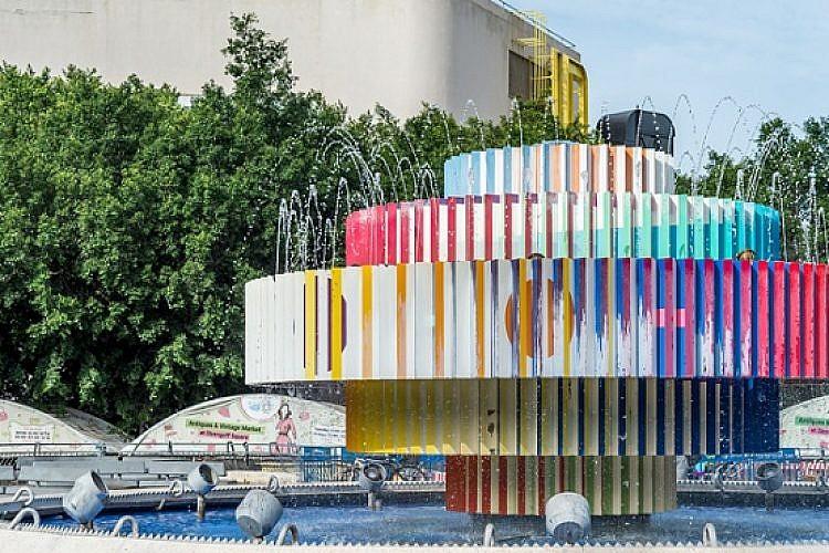 כיכר דיזנגוף והפיקוסים. צילום: Shutterstock