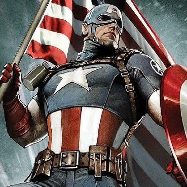 קפטן אמריקה. צילום מסך