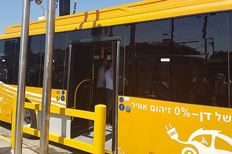 """אוטובוס חשמלי של דן (יח""""צ)"""