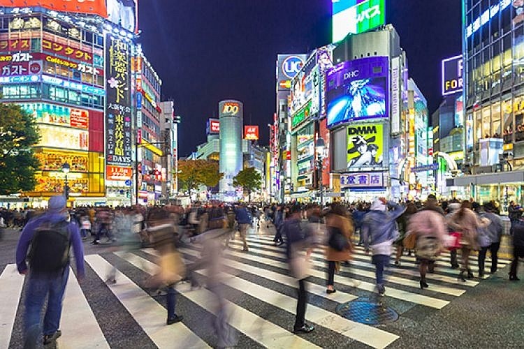 שיבויה, יפן. צילום: שאטרסטוק