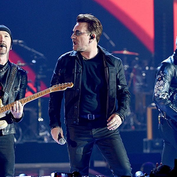 U2 (צילום:  Kevin Winter/Getty Images)