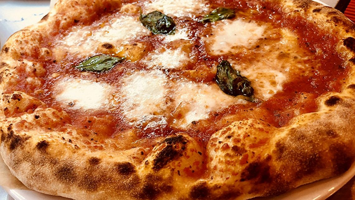 הפיצה של רוני. צילום: רוני חברוני