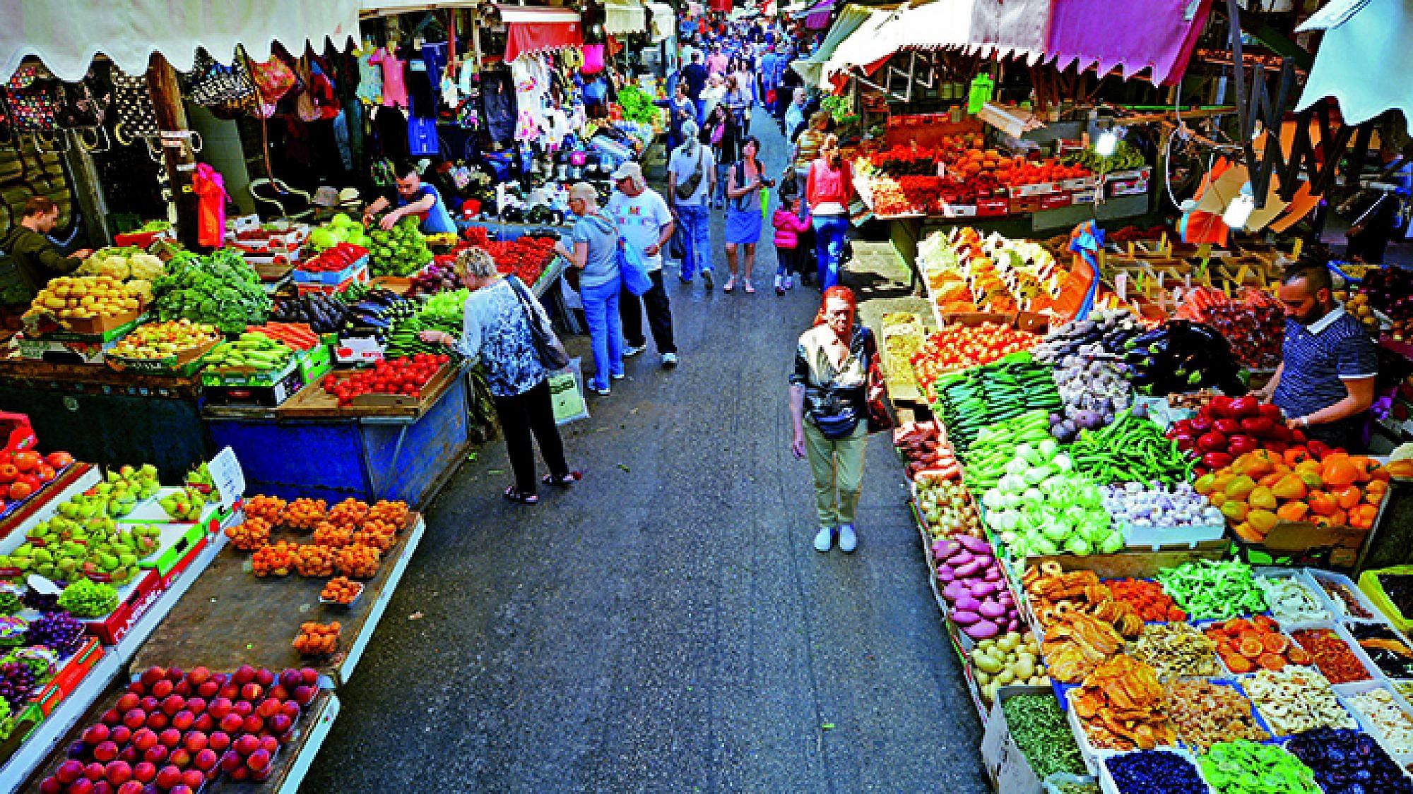 שוק הכרמל (צילום: shutterstock)