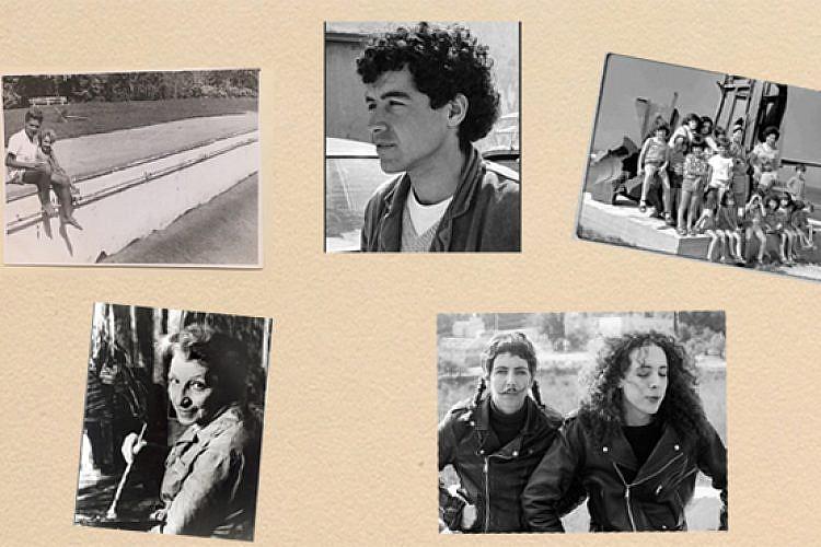 תמונה באלבום. מימין למעלה עם כיוון השעון: משפחת כנעני, משפחת יפמן, גרטה קרקואר, משפחת גבע ועאסם אבו שקרה. באדיבות משפחות המצולמים. עיבוד: רוי גיא