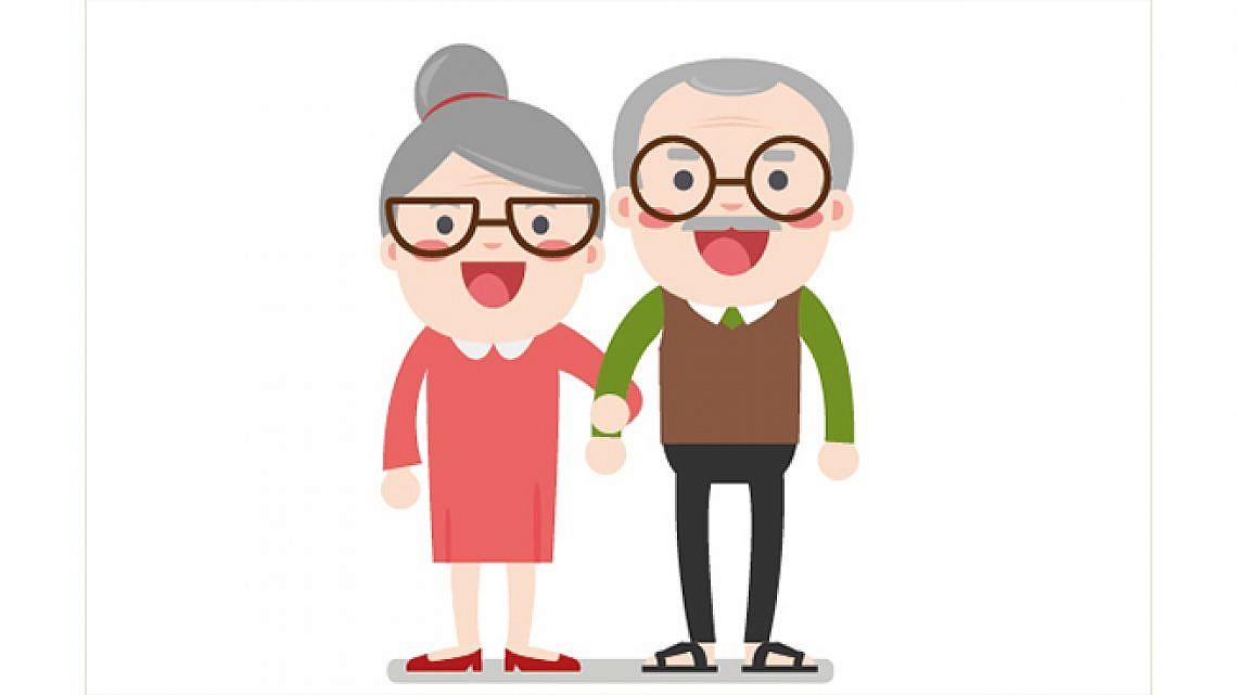 זקן וטוב לו. איור: Shutterstock