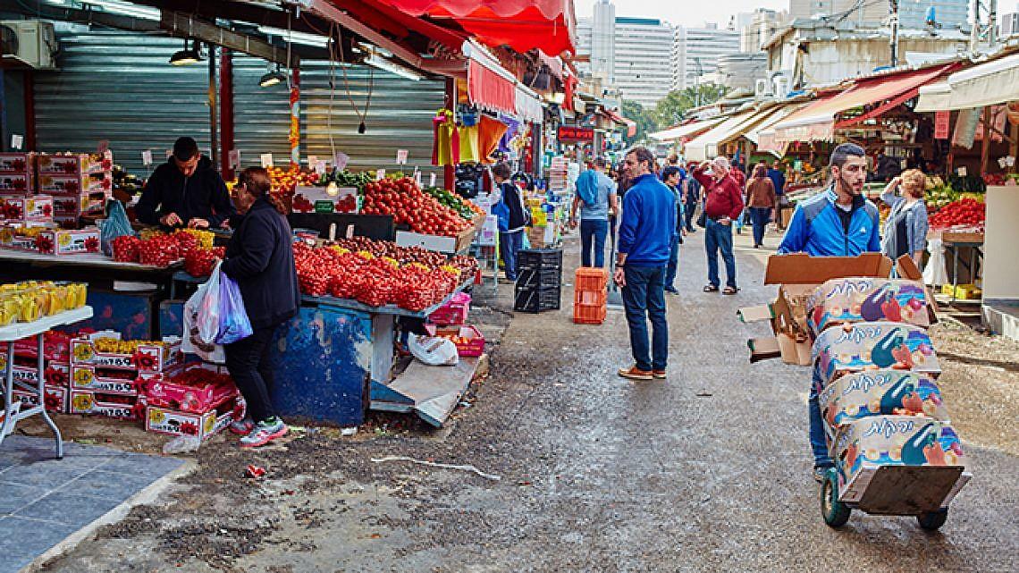 שיק או שוק? שוק הכרמל (צילום: shutterstock)