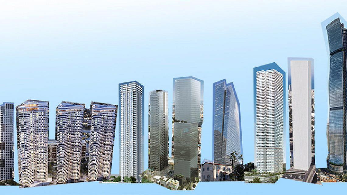 קו הרקיע העתידי של תל אביב (הדמיות: וויופוינט, קבוצת עזריאלי, נצבא)