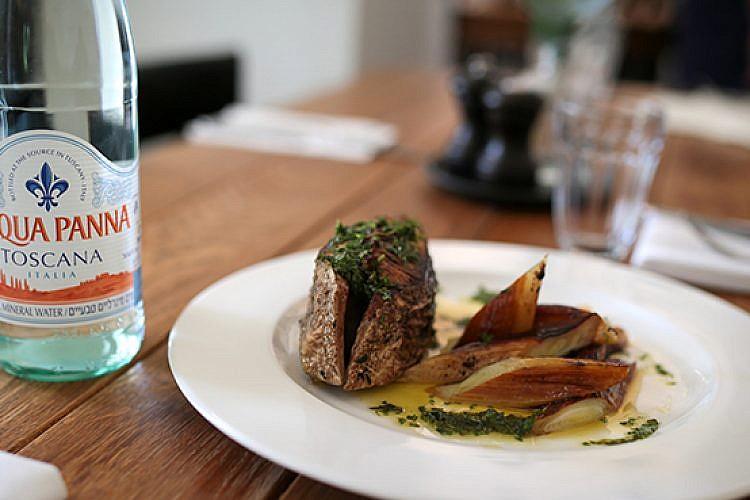 המנה הטוסקנית של אנה טיכו. צילום: אורן בן חקון