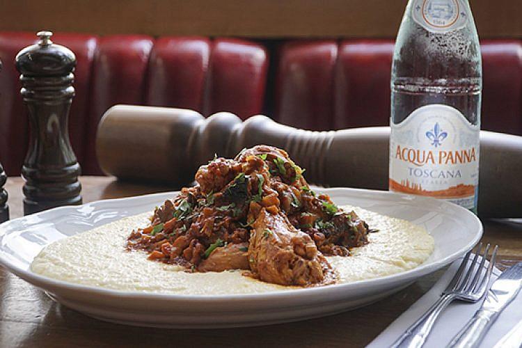 המנה הטוסקנית של מסעדת טייטו. צילום: TLVR