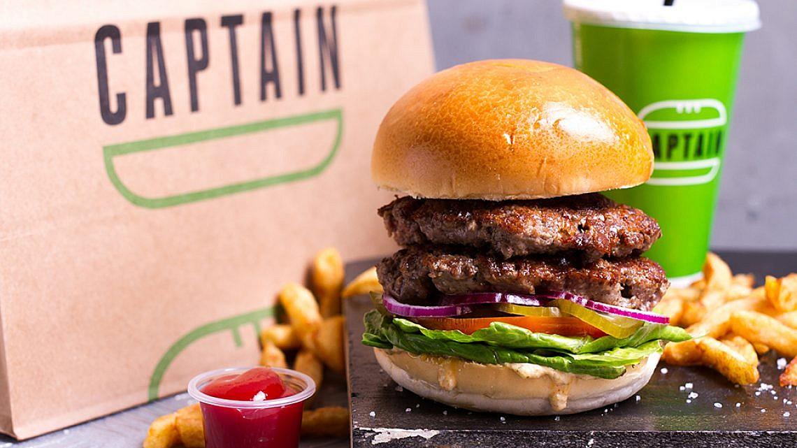 המבורגר של קפטן (צילום: אסף קרלה)