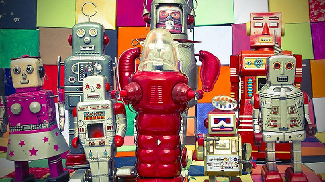 רובוטים. צילום: שאטרסטוק