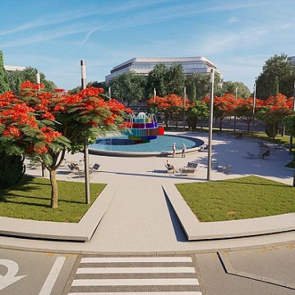 כיכר דיזינגוף (באדיבות עיריית תל אביב-יפו)