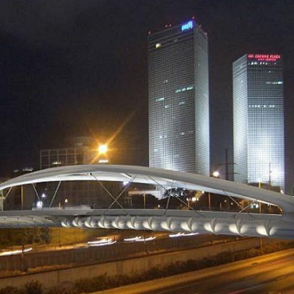 גשר יהודית (צילום הדמיה: חן אדריכלים)