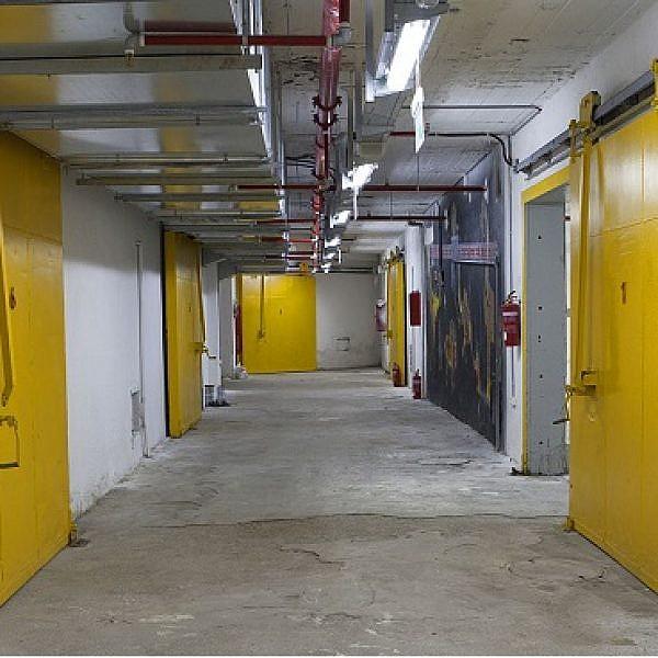 חלל המקרר, לשעבר הקירור של השוק הסיטונאי בתל אביב (צילום: יח