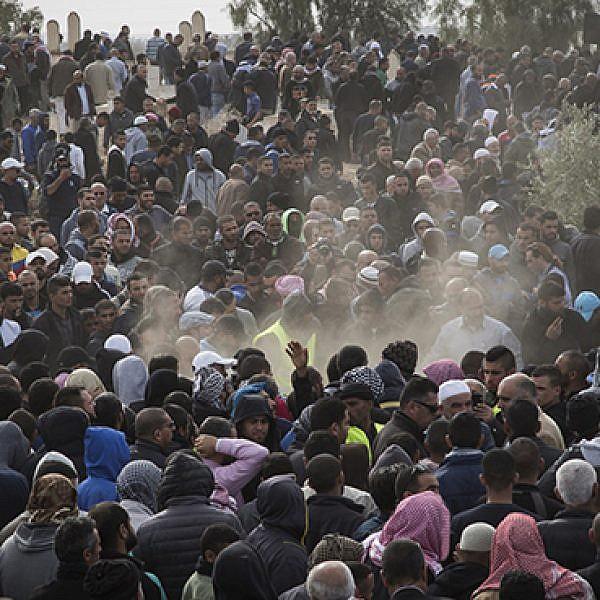 אום אל-חיראן, בתחילת השנה. צילום: קרן מנור/אקטיבסטילס