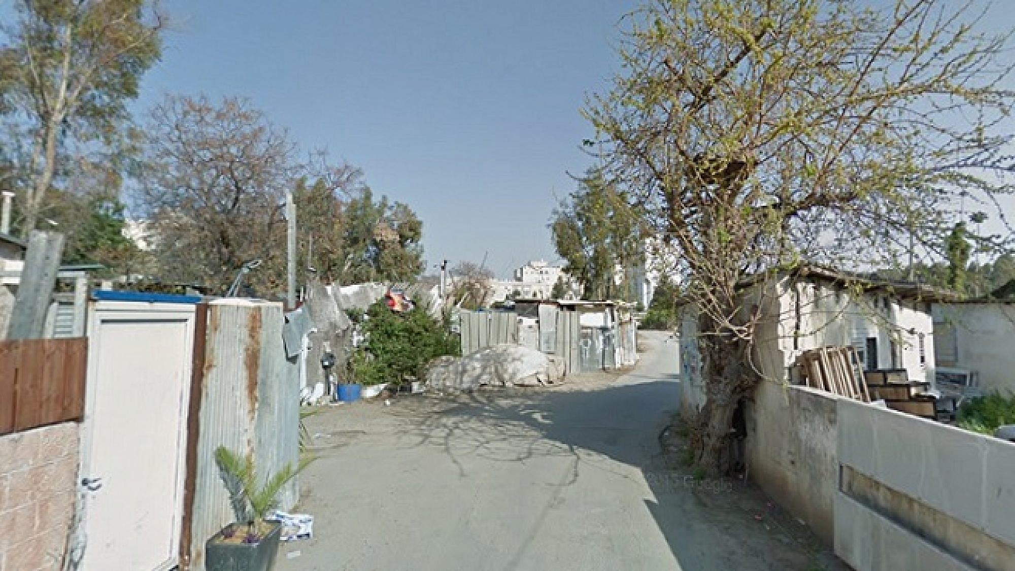 שכונת הארגזים (גוגל מפס)