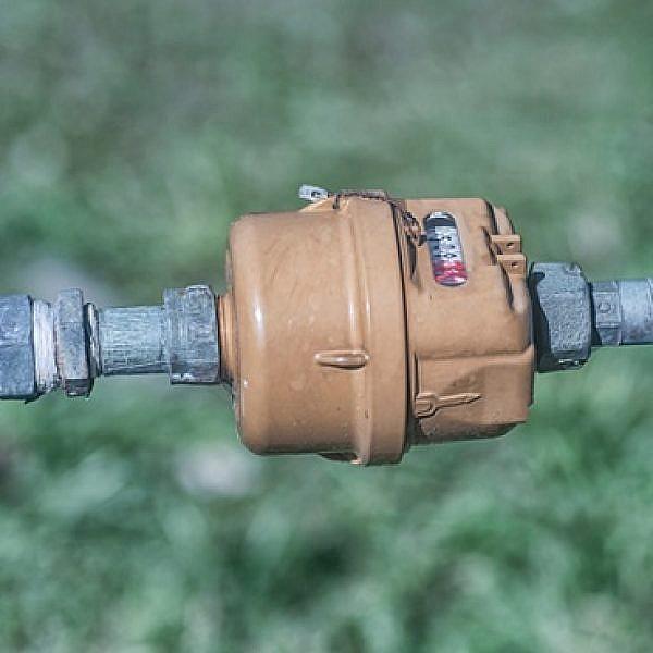 מד מים (צילום: שאטרסטוק)