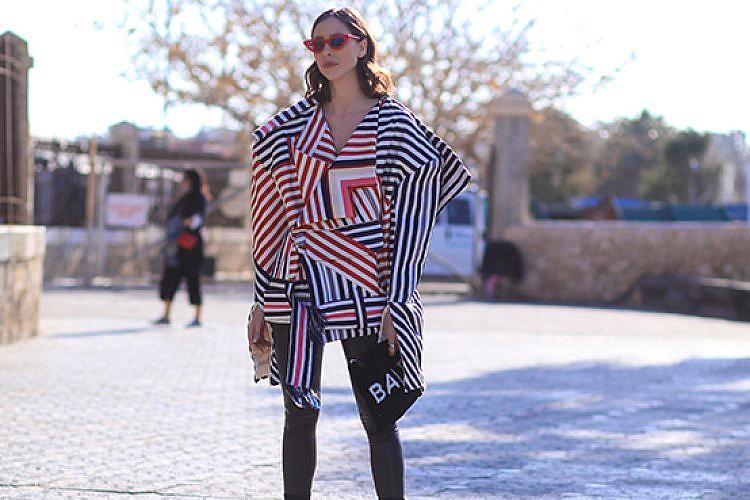 רומי ספקטור בשבוע האופנה 2018. צילום: אסף ליברפרוינד