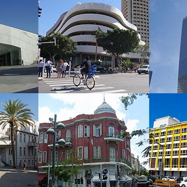 הבניינים הכי יפים בתל אביב