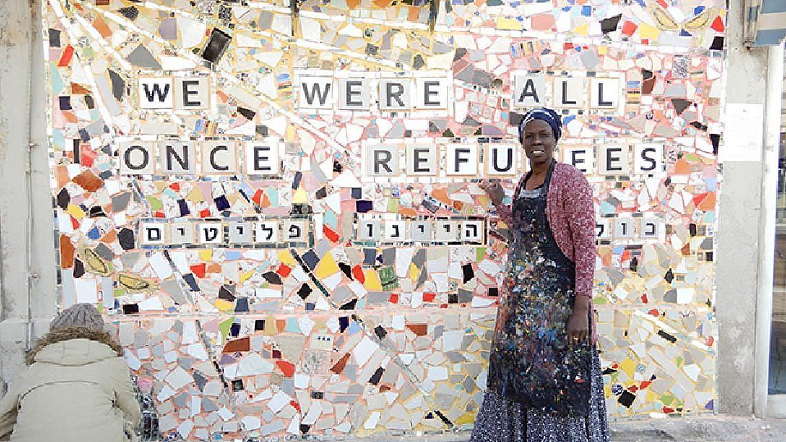 קונצ'יטה: כולנו היינו פליטים. צילום: איליה מלניקוב